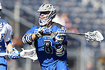 08 February 2015: Air Force's Austin Smith. The Duke University Blue Devils hosted the United States Air Force Academy Falcons at Koskinen Stadium in Durham, North Carolina in a 2015 NCAA Division I Men's Lacrosse match. Duke won the game 13-7.