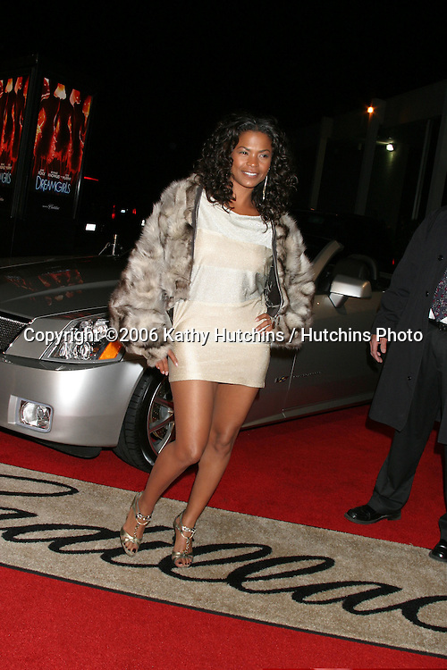 "Nia Long.Los Angeles Premiere of ""Dreamgirls"".Wilshire Theater.Los Angeles, CA.December 11, 2006.©2006 Kathy Hutchins / Hutchins Photo."