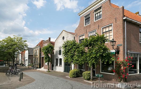 Nederland  Nieuwpoort  2017.  De Buitenhaven in Nieuwpoort, Zuid-Holland.  Foto Berlinda van Dam / Hollandse Hoogte