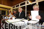 Kerry County Board chairman Sean Walsh addresses the delegates at the County Committee meeting at Austin Stack Park on Monday night.