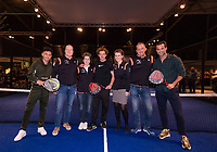 Rotterdam, The Netherlands, 14 Februari 2019, ABNAMRO World Tennis Tournament, Ahoy, Vincenzo, Jan Kooiman, Jamie Trenite, KNLTB,<br /> Photo: www.tennisimages.com/Henk Koster