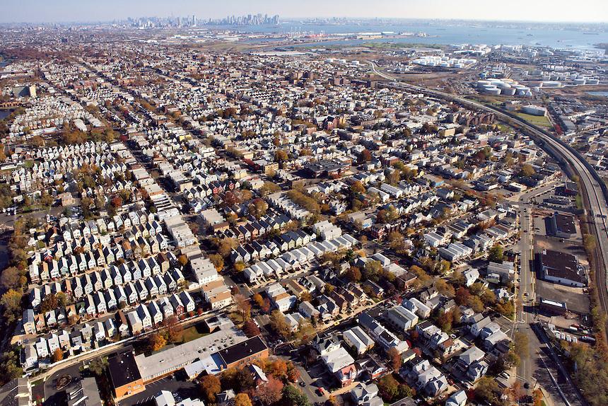 Bayonne, New Jersey (New York City on Horizon)