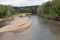 NWA Democrat-Gazette/FLIP PUTTHOFF <br />The War Eagle River      May 1 2018     is a scenic stream to wet a line.