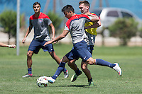 Rancagua, Chile - Thursday, January 29, 2015: USMNT Training in Rancagua.