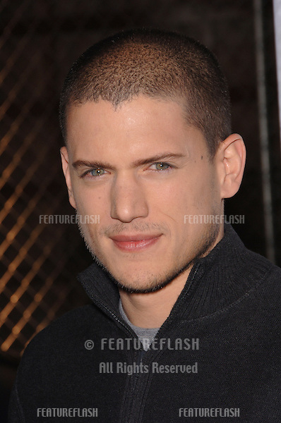 Actor WENTWORTH MILLER at the end of season party for the TV series Prison Break..April 27, 2006  Los Angeles, CA.© 2006 Paul Smith / Featureflash