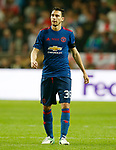Matteo Darmian of Manchester United during the UEFA Europa League Final match at the Friends Arena, Stockholm. Picture date: May 24th, 2017.Picture credit should read: Matt McNulty/Sportimage