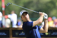 Nino Bertasio (ITA) tees off the 6th tee during Sunday's Final Round 4 of the 2018 Omega European Masters, held at the Golf Club Crans-Sur-Sierre, Crans Montana, Switzerland. 9th September 2018.<br /> Picture: Eoin Clarke | Golffile<br /> <br /> <br /> All photos usage must carry mandatory copyright credit (&copy; Golffile | Eoin Clarke)