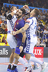 Raul Entrerrios, 4th October  2017, Palau Blaugrana, Barcelona, Spain; EHF Mens Champions League Group Phase, handball. FC Barcelona Lassa v CRO HC Prvo Plinarski Drustvo
