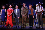 "Bebe Neuwirth, Vanessa Williams,  Joel Grey, Bob Martin, Carolee Carmello, Clifton Duncan during the final performance curtain call for the New York City Center Encores! at 25 production of  ""Hey, Look Me Over!"" on February 11, 2018 at the City Center Theatre in New York City."