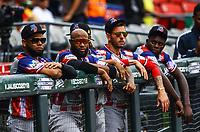 Dogout de &Aacute;guilas Cibae&ntilde;as de Republica Dominicana.<br /> ..<br /> <br /> Aspectos del segundo d&iacute;a de actividades de la Serie del Caribe con el partido de beisbol  &Aacute;guilas Cibae&ntilde;as de Republica Dominicana contra Caribes de Anzo&aacute;tegui de Venezuela en estadio Panamericano en Guadalajara, M&eacute;xico,  s&aacute;bado 3 feb 2018. (Foto  / Luis Gutierrez)