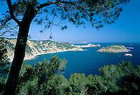 Spain, Costa Blanca, Cap de la Nau near Javea: Coastline | Spanien, Costa Blanca, Cap de la Nau bei Javea: Kuestenlinie