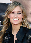 "WESTWOOD, CA. - June 23: Actress Leelee Sobieski arrives at the 2009 Los Angeles Film Festival's premiere of ""Public Enemies"" at the Mann Village Theatre on June 23, 2009 in Westwood, Los Angeles, California."