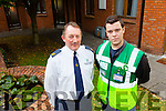Pat O'Callaghan and Sean Horgan who are setting up Tralee First Responders.