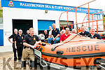 Ballybunion Sea & Cliff Rescue: Members of the Ballybunion Sea & Cliff Rescue celebrating their 30th birthday at their centre on the women's beach in Ballybunion on Sunday last.