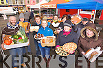 MARKET: Stall holders at the Listowel Farmers' Market, one of many markets in Kerry which is hoping to expand in 2012, l-r: Tomás O'Connor, Maurice Hannon, Robert Mahony, Teresa Foley, Carlos Luque, Caroline Rigney, Olga Demery, Martin Kennedy, Ella O'Sullivan.