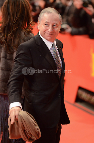 Jean Todt attending the &quot;The Monuments Men&quot; Premiere at at the 64th Annual Berlinale International Film Festival at Berlinale Palast, Berlin, Germany, 8.2.2014.<br /> Photo by Janne Tervonen/insight media /MediaPunch ***FOR USA ONLY***