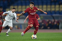 Diego Perotti of AS Roma scores the goal of 1-0 on penalty<br /> Roma 12-12-2019 Stadio Olimpico <br /> Football Europa League 2019/2020 Group J <br /> AS Roma -  Wolfsberg  <br /> Photo Antonietta Baldassarre / Insidefoto