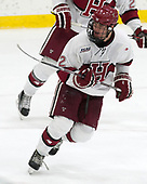 Tyler Moy (Harvard - 2) - The Harvard University Crimson tied the visiting Yale University Bulldogs 1-1 on Saturday, January 21, 2017, at the Bright-Landry Hockey Center in Boston, Massachusetts.