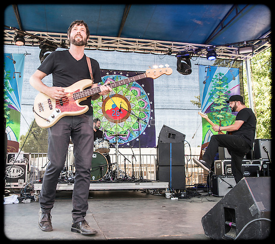 The Record Company photographed at High Sierra Music Festival in Quincy, CA July 3, 2016©Jay Blakesberg /MediaPunch