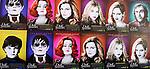 'Dark Shadows' Movie Poster Directed by Tim Burton &  Cast: Chloe Moretz, Eva Green, Johnny Depp, Michelle Pfeiffer in New York City on 4/17/2012