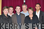 AWARDS: Ann Marie Hickey, Tommy Sheehan, Mike Doolan, Frank OReilly, Pauline Behan and Arek Mazur from Killarney, enjoying the Bank of Ireland Awards in the Dromhall Hotel, Killarney, last Friday night..