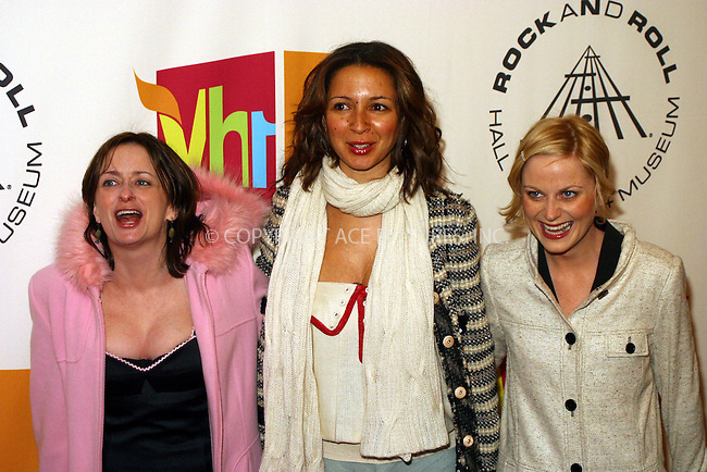 WWW.ACEPIXS.COM . . . . . ....NEW YORK, MARCH 14, 2005....SNL Cast (including Rachel Dratch, Amy Poehler, Maya Rudolph) at the 20th Annual Rock And Roll Hall Of Fame Induction Ceremony at the Waldorf Astoria Hotel.....Please byline: PAUL CUNNINGHAM - ACE PICTURES.. . . . . . ..Ace Pictures, Inc:  ..Philip Vaughan (646) 769-0430..e-mail: info@acepixs.com..web: http://www.acepixs.com