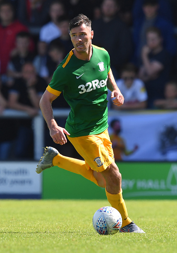 Photographer Dave Howarth/CameraSport<br /> <br /> Football Pre-Season Friendly - AFC Flyde v Preston North End - Saturday July 13th 2019 - Mill Farm - Flyde<br /> <br /> World Copyright © 2019 CameraSport. All rights reserved. 43 Linden Ave. Countesthorpe. Leicester. England. LE8 5PG - Tel: +44 (0) 116 277 4147 - admin@camerasport.com - www.camerasport.com