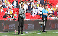 Graham Alexander manager of Salford City during AFC Fylde vs Salford City, Vanarama National League Play-Off Final Football at Wembley Stadium on 11th May 2019