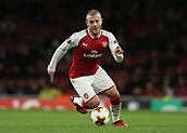 7th December 2017, Emirates Stadium, London, England; UEFA Europa League football, Arsenal versus BATE Borisov; Jack Wilshere of Arsenal on the ball