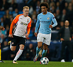 Leroy Sane of Manchester City during the Champions League Group F match at the Emirates Stadium, Manchester. Picture date: September 26th 2017. Picture credit should read: Andrew Yates/Sportimage