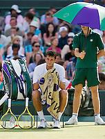 28-06-12, England, London, Tennis , Wimbledon, James Ward