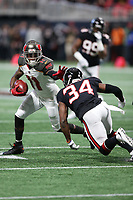 Tampa Bay Buccaneers wide receiver DeSean Jackson #11 during an NFL football game between the Tampa Bay Buccaneers and Atlanta Falcons, Sunday, Nov. 26, 2017 in Atlanta (Photo by Michael Zito/Panini)