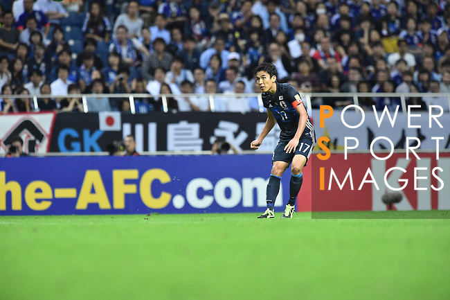 Japan vs Iraq during the 2018 FIFA World Cup Russia Asian Qualifiers Final Qualification Round Group B match at Saitama Stadium 2002 on 06 October 2016, in Saitama, Japan. Photo by Takehiko Noguchi / Lagardere Sports