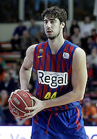 FC Barcelona Regal's Ante Tomic during Liga Endesa ACB match.November 18,2012. (ALTERPHOTOS/Acero) /NortePhoto