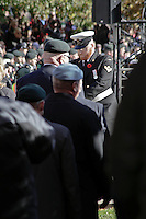 Remembrance Day, November 11, 2016, London, Ontario, Canada