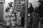 Crookham Mummers Boxing Day Crookham Berkshire UK 1974
