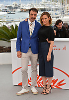 """CANNES, FRANCE. May 17, 2019: Michael Angelo Covino & Judith Godreche  at the photocall for the """"The Climb"""" at the 72nd Festival de Cannes.<br /> Picture: Paul Smith / Featureflash"""