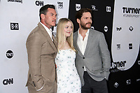 NEW YORK, NY - MAY 16: Luke Evans, Dakota Fanning, Daniel Bruhl,  at Turner Upfront 2018 at Madison Square Garden in New York. May 16, 2018 Credit:/RW/MediaPunch