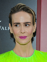 NEW YORK, NY - June 5: Sarah Paulson attends 'Ocean's 8' World Premiere at Alice Tully Hall on June 5, 2018 in New York City. <br /> CAP/MPI/JP<br /> &copy;JP/MPI/Capital Pictures