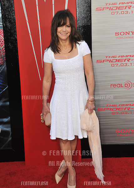 "Sally Field at the world premiere of her movie ""The Amazing Spider-Man"" at Regency Village Theatre, Westwood..June 29, 2012  Los Angeles, CA.Picture: Paul Smith / Featureflash"