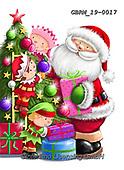 Roger, CHRISTMAS SANTA, SNOWMAN, WEIHNACHTSMÄNNER, SCHNEEMÄNNER, PAPÁ NOEL, MUÑECOS DE NIEVE, paintings+++++,GBRM19-0017,#x#