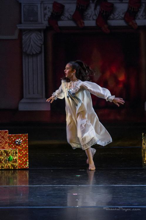 "Cary Ballet Company, ""Visions of Sugarplums"", Saturday Evening, 20 Dec. 2014, Cary Arts Center, Cary, North Carolina."