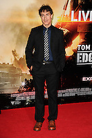 "Doug Liman arriving for the World premiere of ""Edge of Tomorrow"" at the IMAX London, the first of three premieres around the world for the film in one day. 28/05/2014 Picture by: Steve Vas / Featureflash"