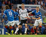 Dean Shiels and Jordan Rossiter