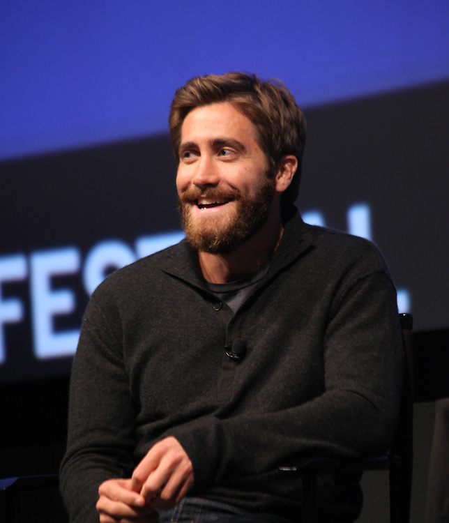 NEW YORK - OCTOBER 02:  Jake Gyllenhall speaks to Ed Zwick during the 2010 New Yorker Festival In Conversation with Jake Gyllenhaal and Ed Zwick at SVA Theater 1 on October 2, 2010 in New York, New York.  (Photo by Donald Bowers/Getty Images for The New Yorker)