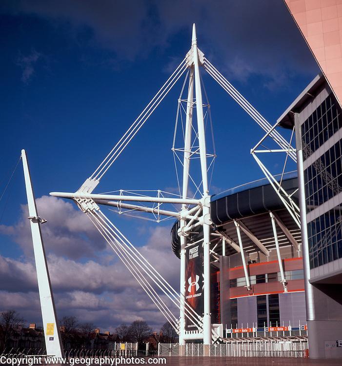 Millennium stadium, Cardiff, Wales