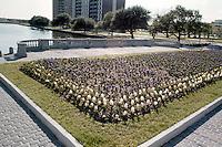 1976 April 01.UNDATED..Conservation.Ghent (R-43)....FLOWERS AT STONE PARK / PEMBROKE TOWER...NEG#.NRHA# 4624..