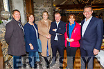 Pat Carmody (BoI), Grace O'Donnell (Tralee Rotary Club), Deirdre Toomey (BoI), Jerry Enright (BoI), Mags O'Sullivan and Declan Dowling (Kingdom Greyhound Stadium) attending the launching of the Tralee Chamber Alliance's Developing Tourism in Tralee - Action Plan to 2025 in the Ballyseede Castle Hotel on Monday.