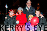 Listowel Christmas Lights: Pictured at the switching on of the Christmas light in Listowel on Saturday last were Aidan, Michelle, Liam, Menno & Caitlin Roos , Six Crosses , Listowel.