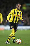 Scott Sutter of BSC Young Boys - UEFA Europa League Round of 32 Second Leg - Everton vs Young Boys - Goodison Park Stadium - Liverpool - England - 26th February 2015 - Picture Simon Bellis/Sportimage